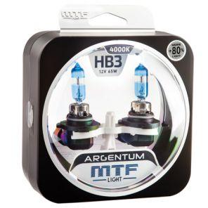 Лампа галогенная HB3 Argentum +80%